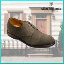 Allen Edmonds Straight Tip Suede Plain Oxfords