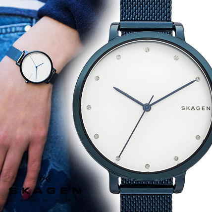 Round Quartz Watches Stainless Analog Watches