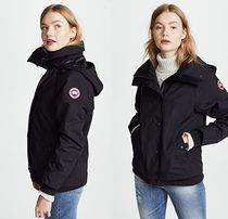 CANADA GOOSE CHINOOK Short Unisex Nylon Plain Down Jackets
