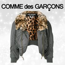 COMME des GARCONS Leopard Patterns Casual Style Wool Street Style Medium