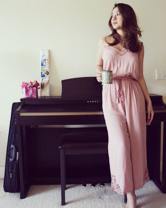 Dungarees Sleeveless Plain Long Dresses