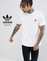 adidas Crew Neck Street Style Cotton Short Sleeves