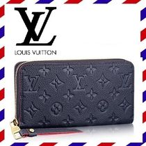 Louis Vuitton ZIPPY WALLET Monogram Tassel Leather Long Wallets