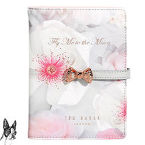 TED BAKER Ted Baker Fly Me to the Moon Passport Holder