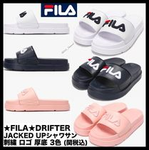 FILA Casual Style Unisex Shower Shoes Flat Sandals
