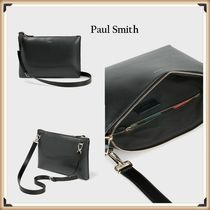 Paul Smith 2WAY Plain Leather Clutches