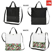 THE NORTH FACE Argile Flower Patterns Unisex Nylon Street Style A4 2WAY