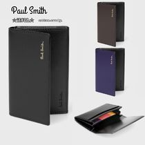 Paul Smith Plain Leather Card Holders