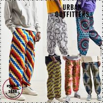 Urban Outfitters Printed Pants Street Style Cotton Patterned Pants