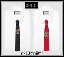 GUCCI Silk Other Animal Patterns Ties