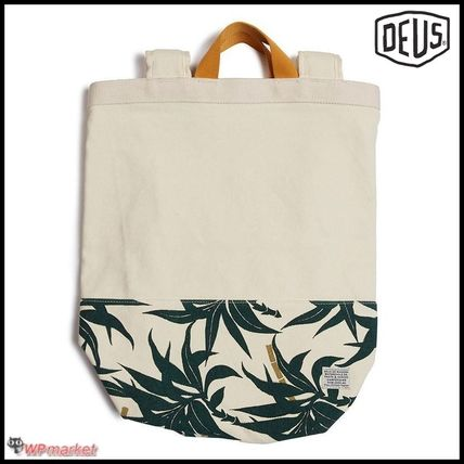 Casual Style Bi-color Totes