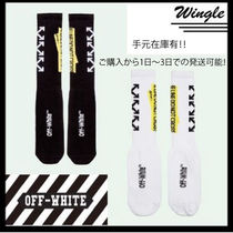 Off-White Street Style Cotton Undershirts & Socks