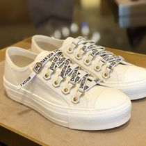 Christian Dior Street Style Plain Elegant Style Low-Top Sneakers