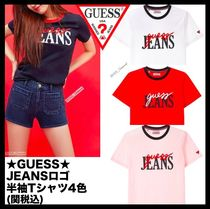 Guess Casual Style Unisex T-Shirts