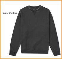 Acne Crew Neck Sweat Long Sleeves Sweatshirts