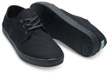 TOMS Camouflage Rubber Sole Lace-up Plain Low-Top Sneakers
