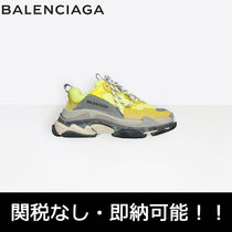BALENCIAGA Triple S Street Style Low-Top Sneakers
