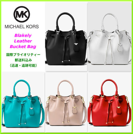 Michael Kors Handbags Plain Leather Purses Elegant Style