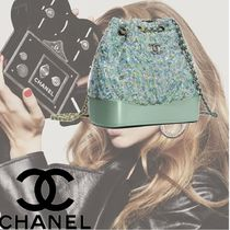 CHANEL Casual Style Plain PVC Clothing Backpacks
