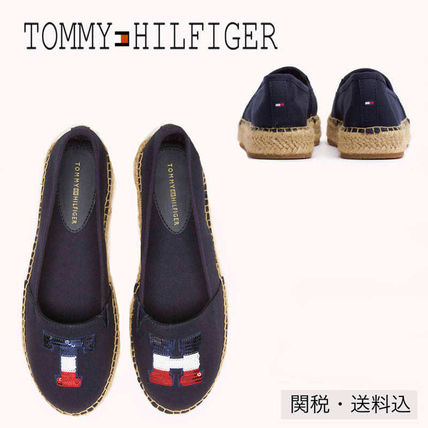 8077998c8fdf33 Tommy Hilfiger. Platform Round Toe Casual Style Plain Lace-Up Shoes  2018  SS