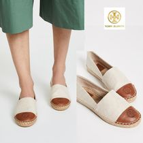 Tory Burch Casual Style Plain Leather Flats