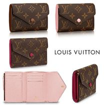 Louis Vuitton MONOGRAM Monogram Leather Folding Wallet Folding Wallets