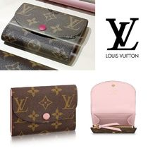 Louis Vuitton MONOGRAM Monogram Leather Coin Purses