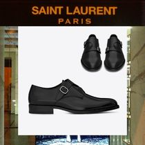 Saint Laurent Plain Leather Oxfords