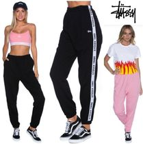 STUSSY Casual Style Street Style Plain Long Pants