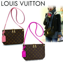 Louis Vuitton MONOGRAM Monogram Canvas Blended Fabrics Elegant Style Shoulder Bags