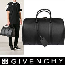 GIVENCHY Unisex 2WAY Plain Leather Boston Bags