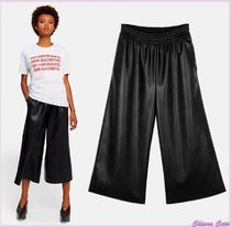 Stella McCartney Nylon Plain Medium Elegant Style Culottes & Gaucho Pants