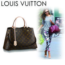 Louis Vuitton MONOGRAM Monogram Casual Style Canvas A4 2WAY Shoulder Bags