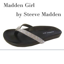 Madden Girl Open Toe Plain With Jewels Shoes