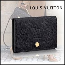 Louis Vuitton MONOGRAM EMPREINTE Leather Card Holders