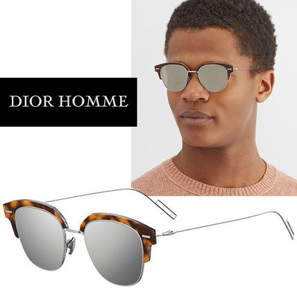 0eed030406 DIOR HOMME Unisex Round Sunglasses (DIOR TENSITY 0AB8 A9) by ...