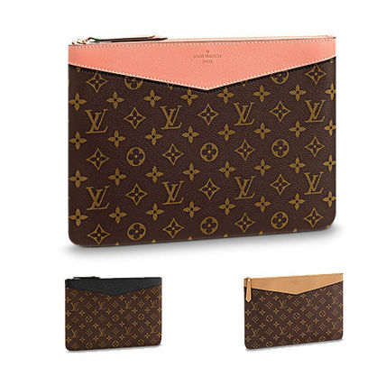 Louis Vuitton 2018 Ss 18ss Daily Pouch Leather Clutches Bag By 62b47904c61af