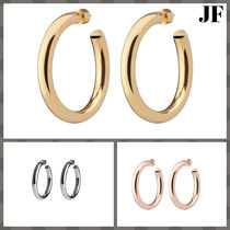 JENNIFER FISHER Casual Style Silver 10K Gold Fine