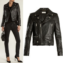 Saint Laurent 18SS WSL 1191 CLASSIC MOTORCYCLE JACKET IN GRAINED CALF