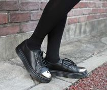 Dr Martens Unisex Street Style Leather Shoes