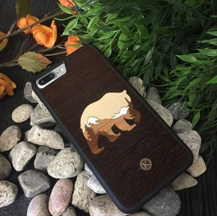 Unisex Plain Handmade Made of Wood Smart Phone Cases