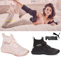 PUMA Casual Style Street Style Plain Low-Top Sneakers