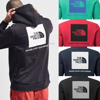 THE NORTH FACE Hoodies Sweat Street Style Long Sleeves Hoodies