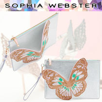 SOPHIA WEBSTER Leather Clutches