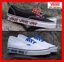 VANS AUTHENTIC Casual Style Unisex Street Style Low-Top Sneakers