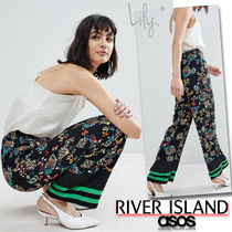 ASOS Flower Patterns Casual Style Long Pants