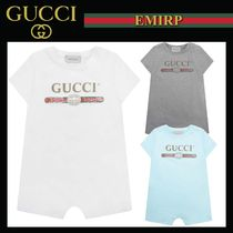 GUCCI Unisex Organic Cotton Baby Girl Dresses & Rompers