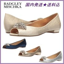 Badgley Mischka Open Toe Party Style With Jewels Espadrille Shoes