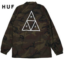 HUF Camouflage Street Style Coach Jackets Coach Jackets
