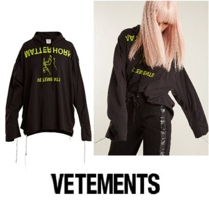 Casual Style Unisex Street Style Cotton Long Oversized